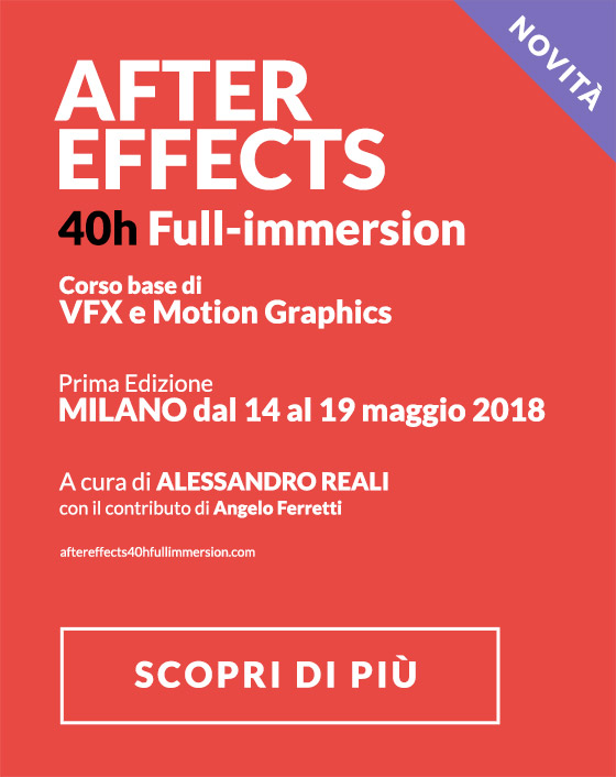 Corso di VFX e Motion Graphics con After Effects