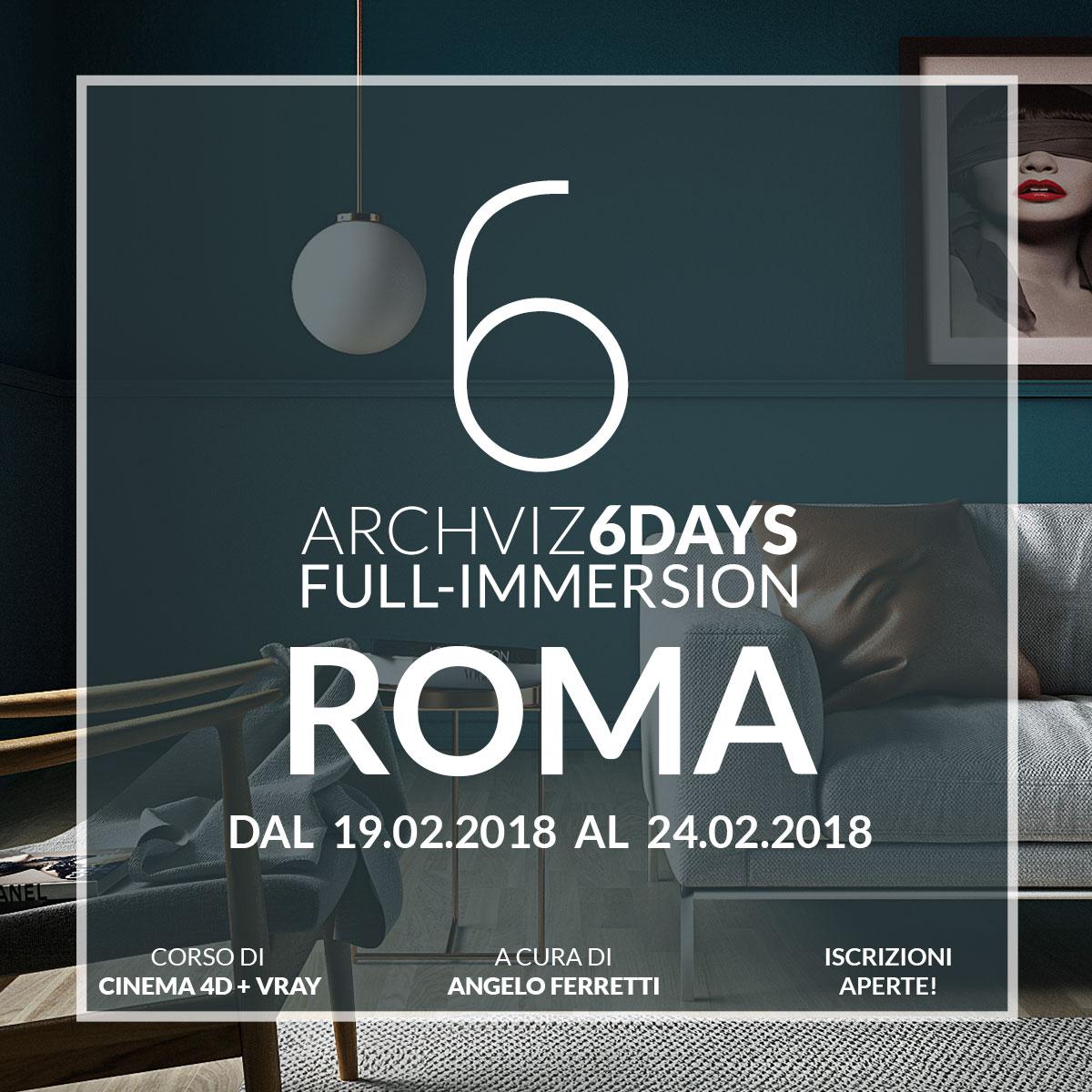 Corso di Cinema 4D + V-Ray per l'architettura e il design