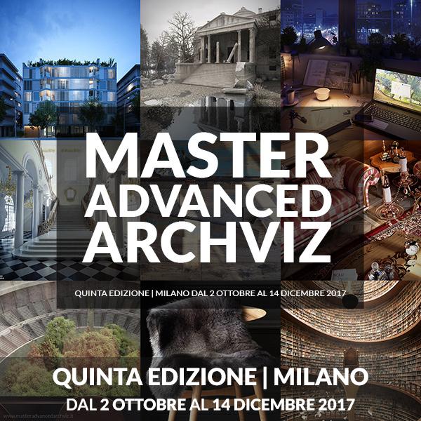 Master in Cinema 4D + V-Ray per l'architettura e il design