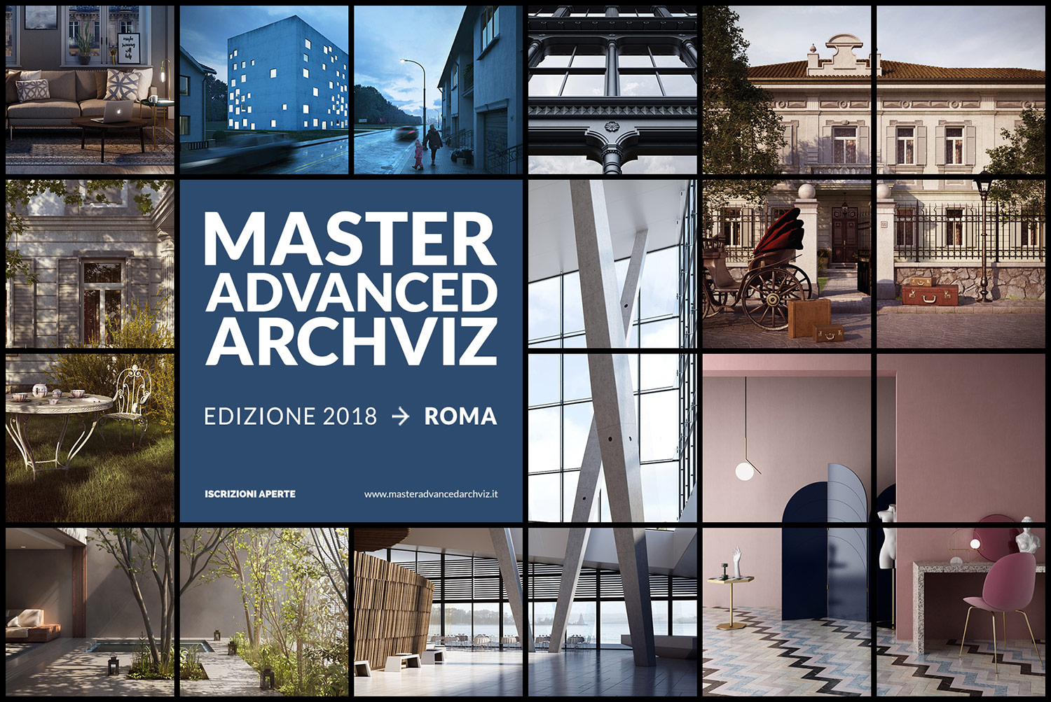 Master in Cinema 4D e V-Ray a Roma