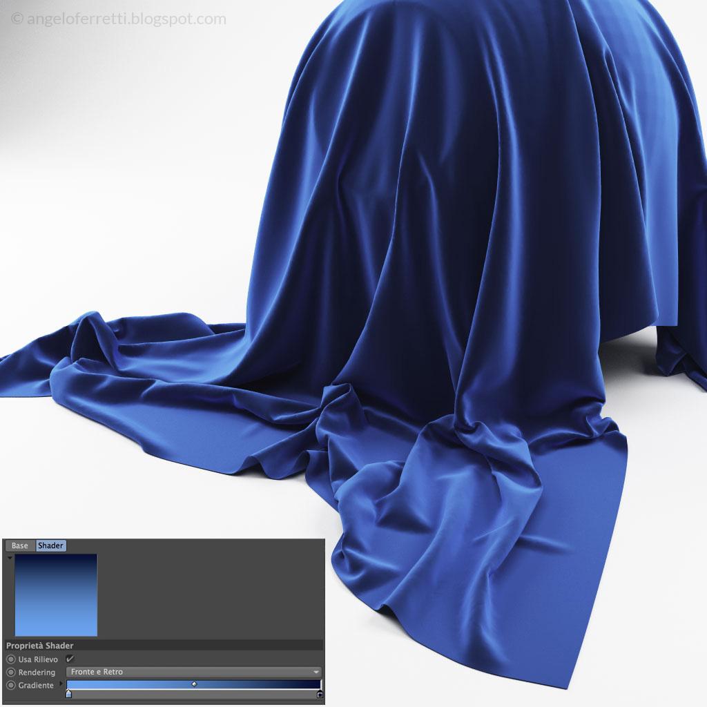 Tessuti fantastici con Cinema 4D e Vray