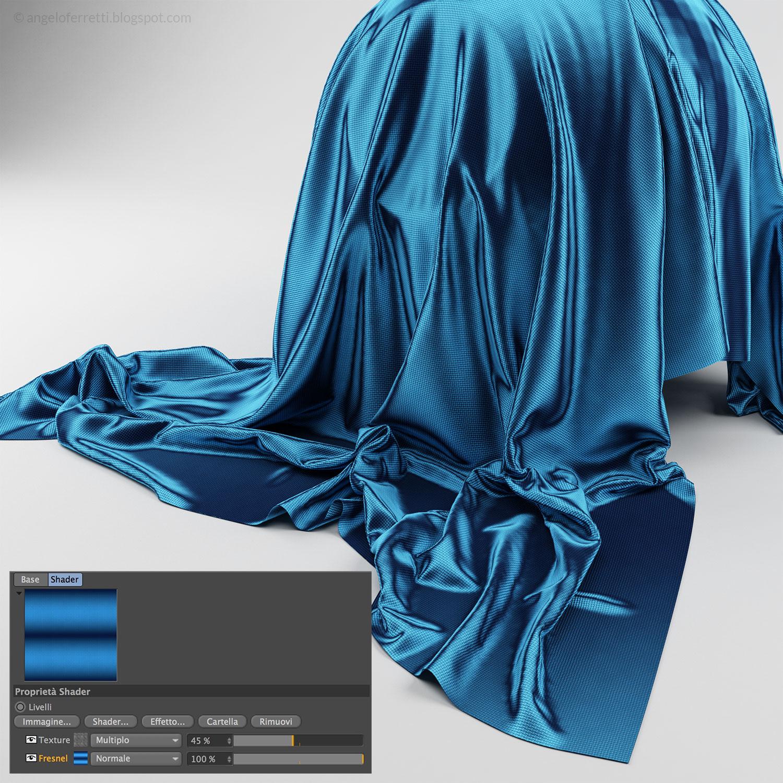 Tessuti fantastici e come crearli (con Cinema 4D e Vray)   Angelo