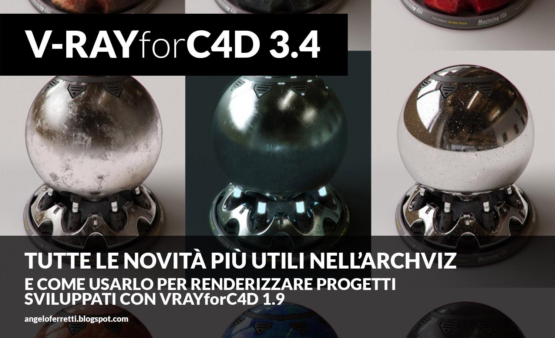V-RayforC4D 3.4