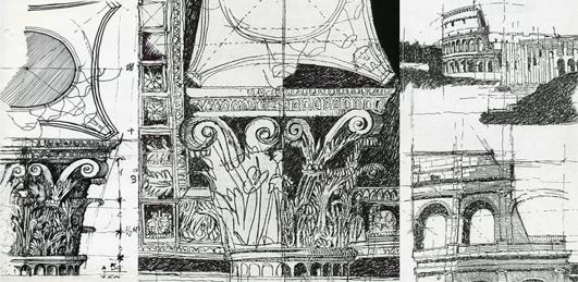 Disegno e rilievo for Disegno del piano di architettura