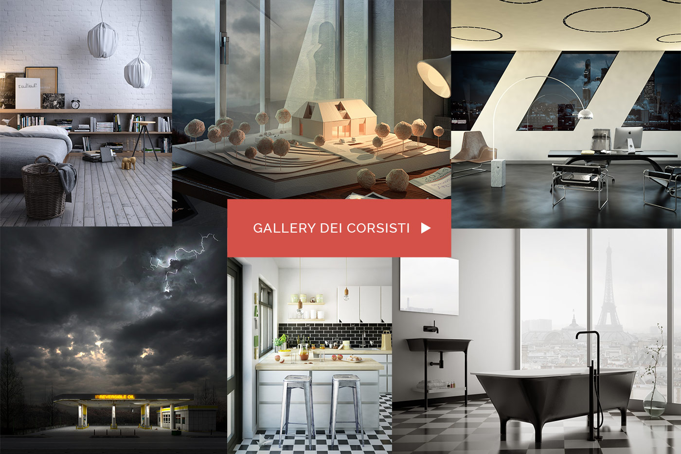 Master Advanced Archviz 2015 - Master in Cinema 4D e Vray per l'architettura e il design
