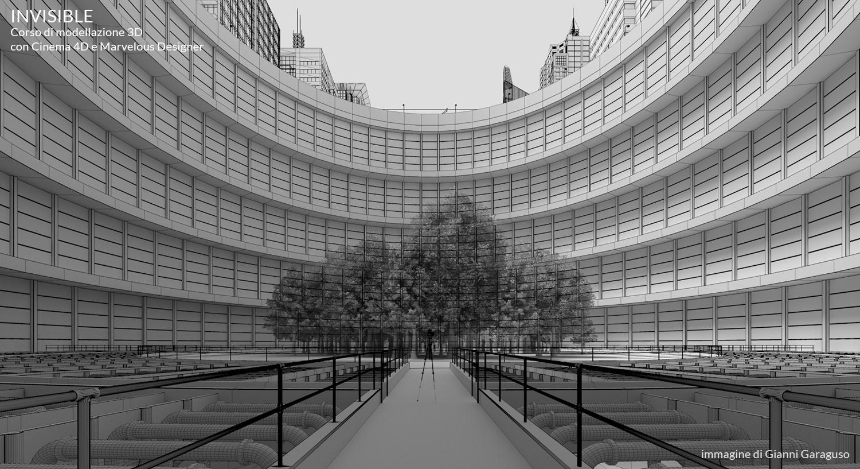 INVISIBLE - Corso di modellazione 3D con Cinema 4D e Marvelous Designer