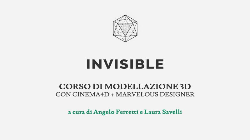 corso di modellazione 3D con Cinema 4D e Marvelous Designer a Milano