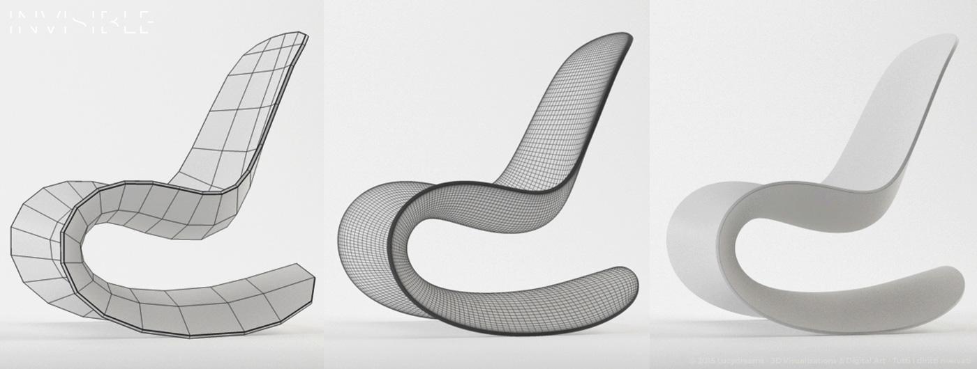 Invisible for Oggetti design